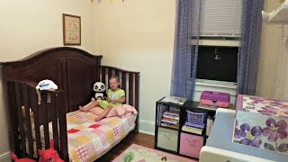 Toddler Room Tour: Small, No Closet, No Heat! | Maymommy2011