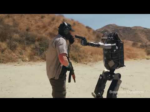 Кожаные ублюдки Робот На Полигоне!Это стоит увидеть! Озвучка пародии Boston Dynamics от Corridor