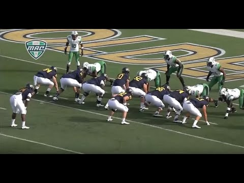 Trayion Durham - Kent State Football - HB/FB - 2015 Marshall Game