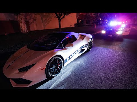 POLICE vs LA Underground Street Racers *BUSTED*