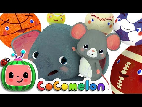 Sports Ball Song | Nursery Rhymes & Kids Songs - ABCkidTV