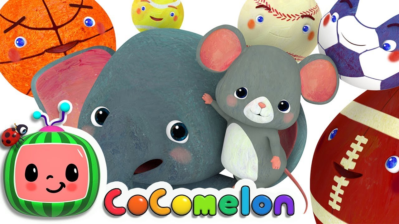 Sports Ball Song   CoComelon Nursery Rhymes & Kids Songs