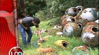 Ambientalista defiende sus residuos de asbesto en reserva de Bogotá