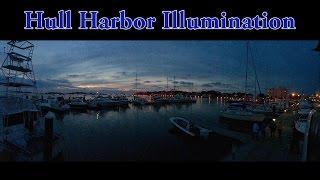 Hull Harbor Illumination - July 25, 2015
