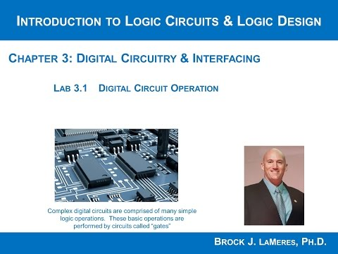 Lab 3.1 Overview - Digital Circuit Operation