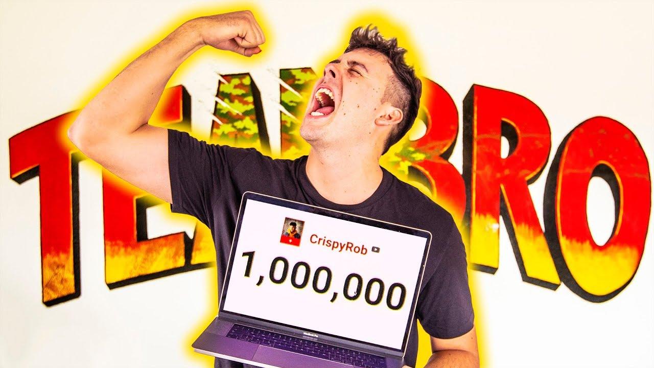 1.000.000 Abonnenten LIVE REACTION!