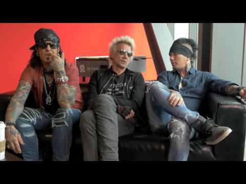 Sixx:A.M. interview - Nikki, James, and DJ