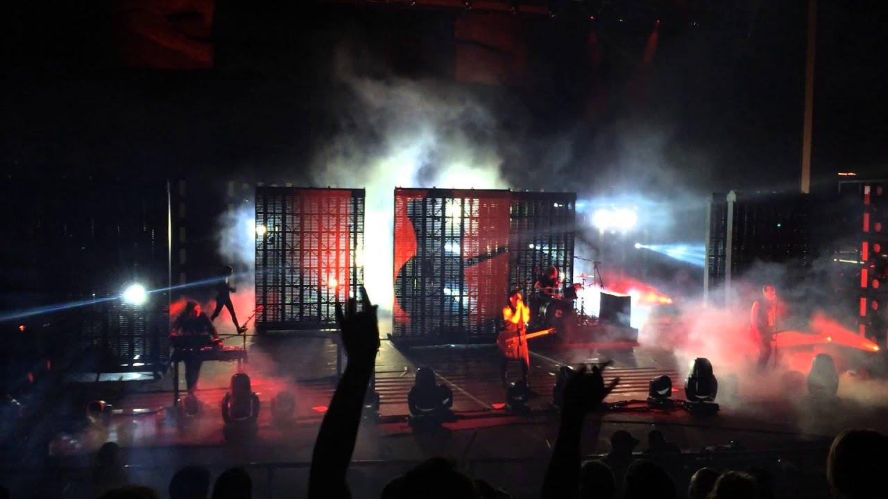 Nine Inch Nails - Burn (NIN 2014) Morrison, CO - Red Rocks ...