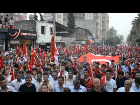Kozan Ülkü Ocakları Teröre Lanet, Şehide Saygı Yürüyüşü