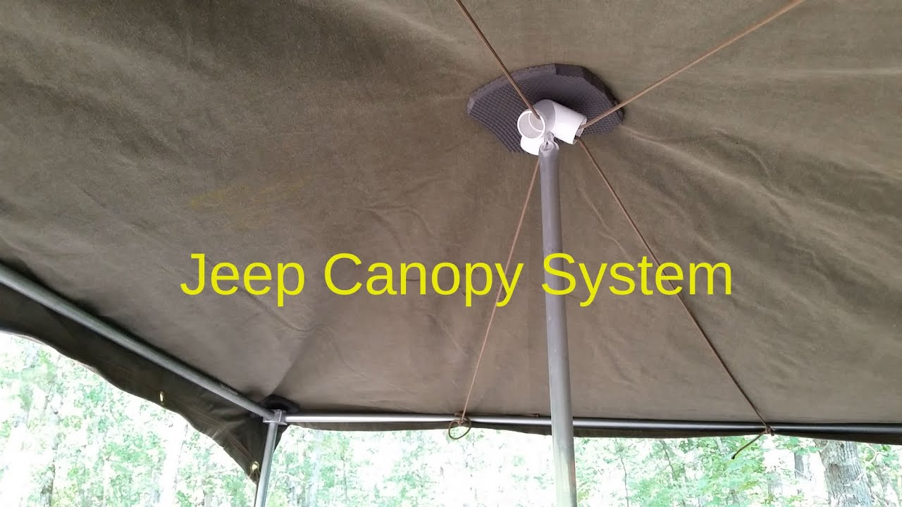 Jeep XJ Canopy System built for $75 & Jeep XJ Canopy System built for $75 - YouTube