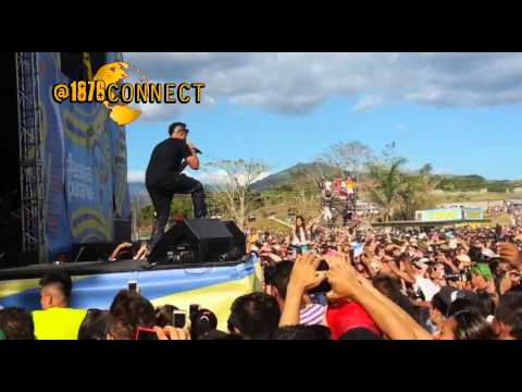 Sean Paul ft konshens live performance in Costa rica |Feb 2014 | Want Them All Official Video