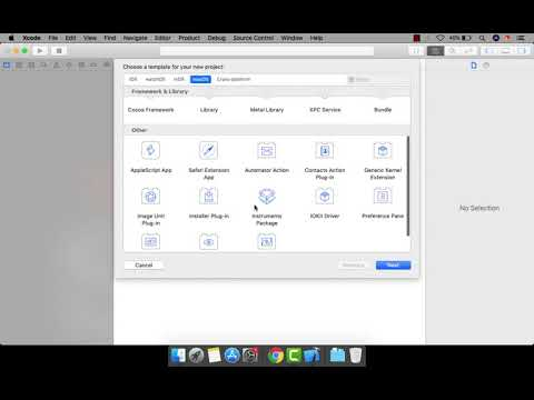 Episode - 1 : How To Create A New Project | XCODE - 10.2 | SWIFT 5 thumbnail