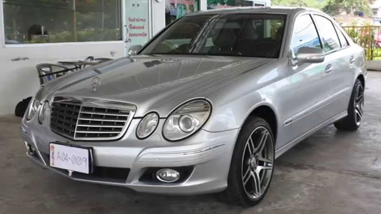 2007 mercedes benz e class e200 kompressor 1 8 at. Black Bedroom Furniture Sets. Home Design Ideas