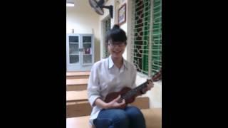 Ông noel dễ thương - ukulele Ngân Kim