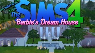 Constructing Barbie's Dream House! | The Sims 4 Speed Build