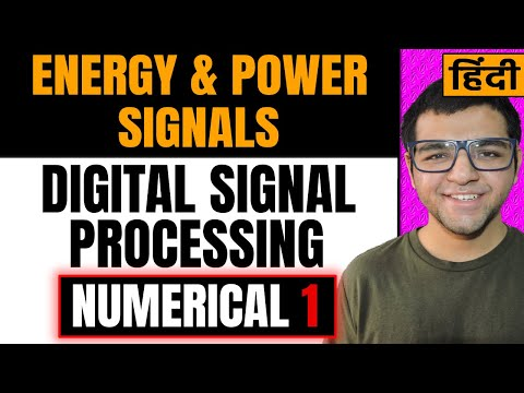 ENERGY signals and POWER Signals