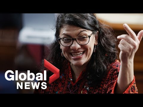 Rashida Tlaib's vulgar call to impeach Trump received with mixed support