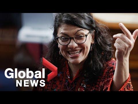 Rashida Tlaib's vulgar call to impeach Trump received with mixed support