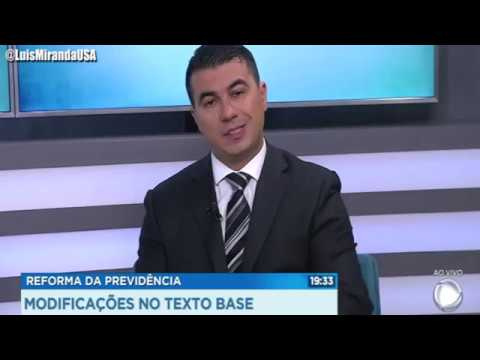 Entrevista Para Record - Reforma Da Previdência e as emendas