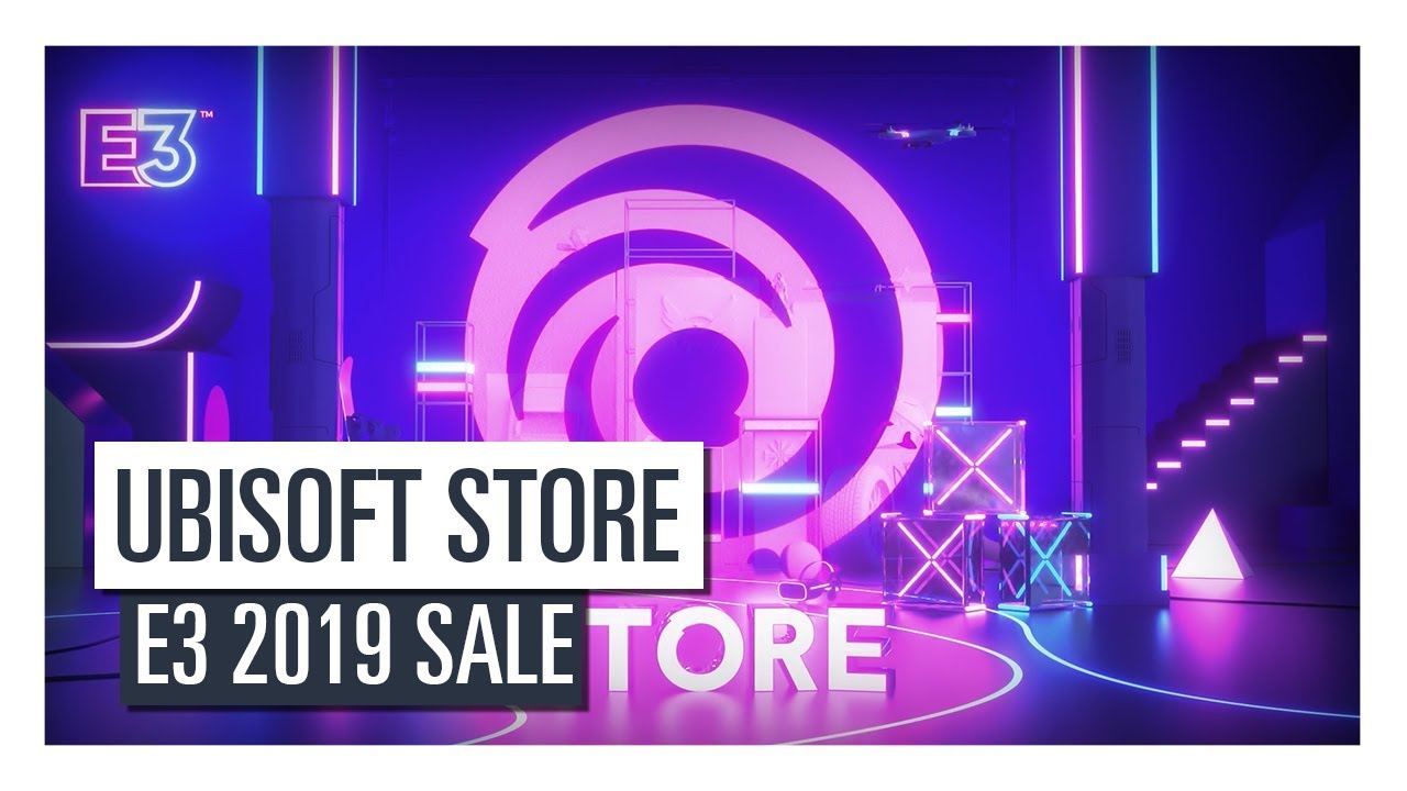 E3 2019 SALE - UP TO 90% OFF WITH THE UBISOFT STORE