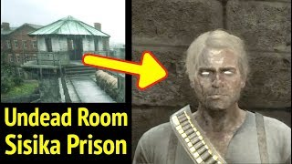 Undead Basement in Red Dead Redemption 2 (RDR2): Enter Sisika Penitentiary