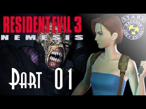 Let's Blindly Play Resident Evil 3: Nemesis! - Part 01