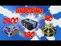 Let's Play Trove - Unboxing 180 Chaos Chest 2000 Shadow Caches and 40 Empowered Gem boxes