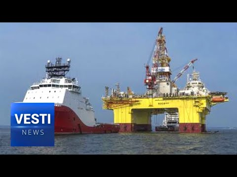 "Wildly Lucky Drilling Operation Uncovers New Sakhalin Underwater Oil Field Dubbed ""Neptune""!"