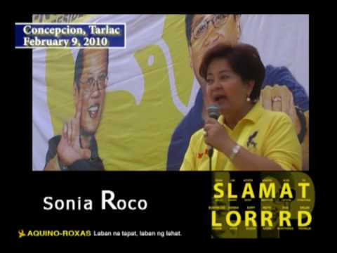 LP Campaign Kick off in Tarlac: Sonia Roco