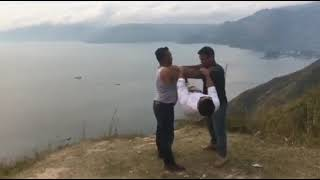DREAM VACATION TRAVEL WORKOUT INDONESIA  Ft. Human flag.