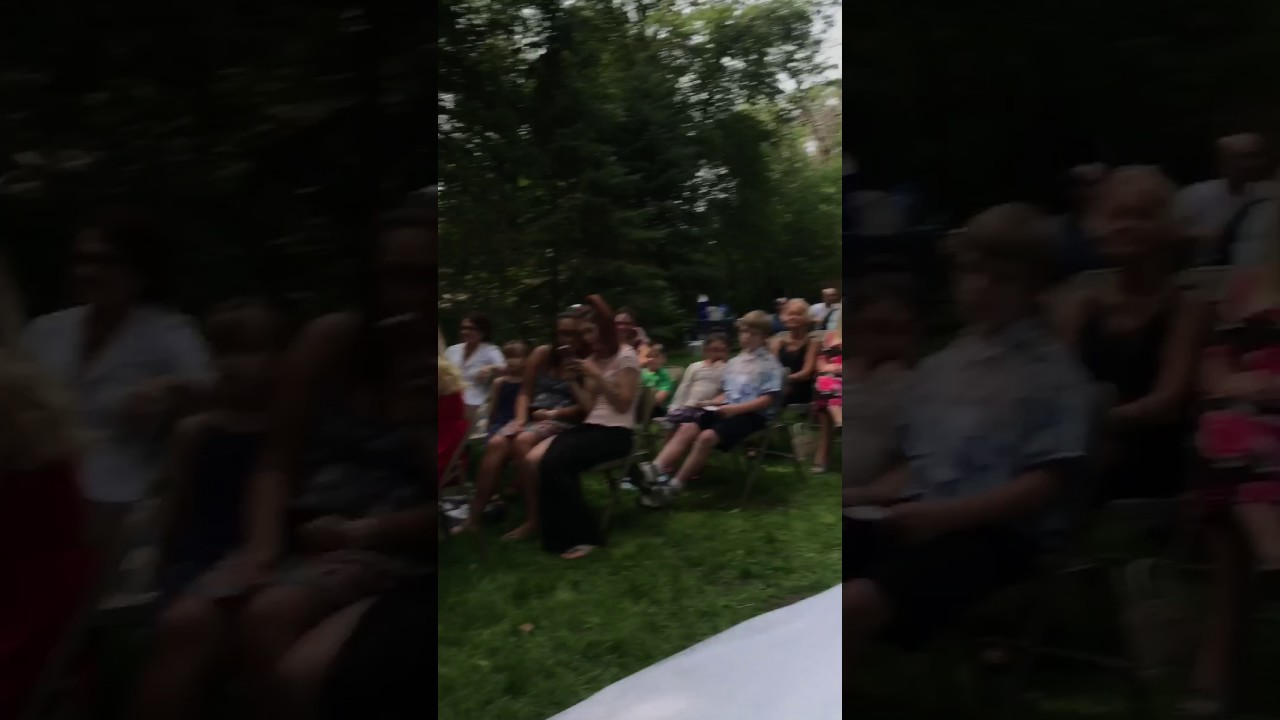 Funny Video: Dad Loses His Pants at Daughters Wedding