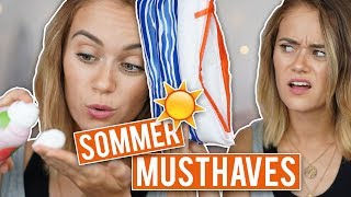 10 MUSTHAVES im SOMMERURLAUB - meine Favoriten | SNUKIEFUL