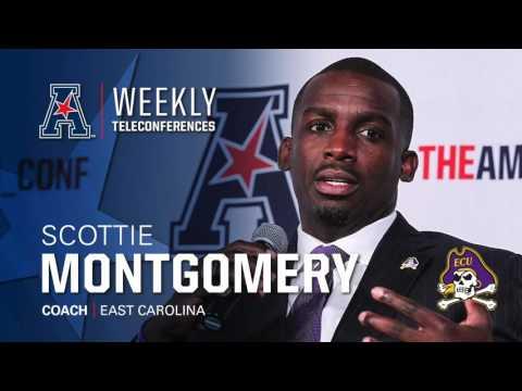 Football Coaches Teleconference Week 13: ECU Head Coach Scottie Montgomery