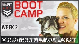 28 Day Resolution Jumpstart Workout Diary with Michelle Glavan: Week 2 - BeFit Bootcamp
