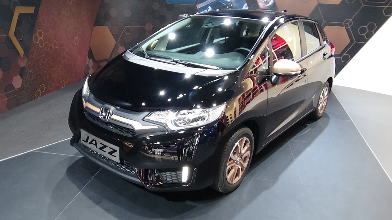 2017 Honda Jazz Spotlight - Exterior and Interior - Paris Auto Show 2016 - YouTube
