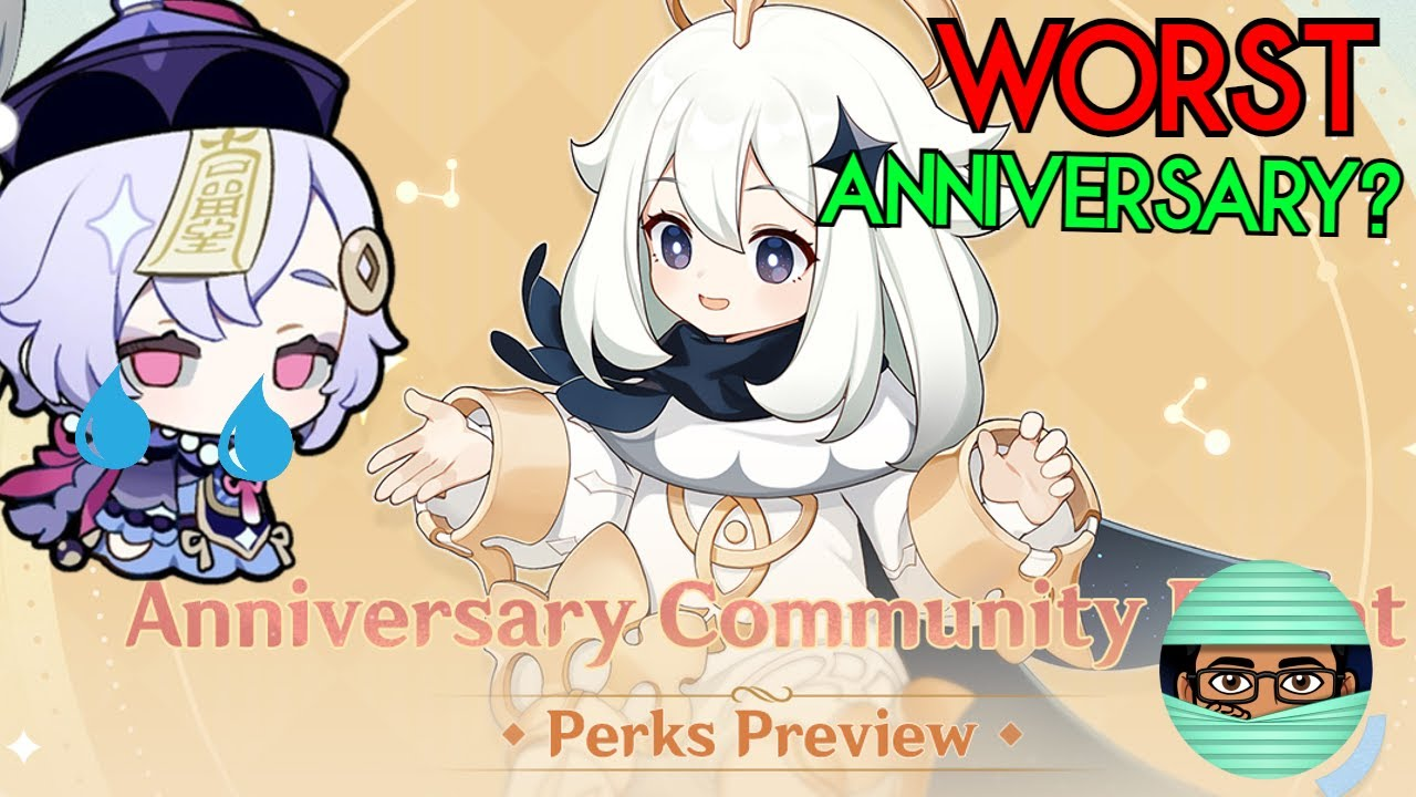 I Hope the Anniversary Rewards get Better in 2.2 Because New Rewards are A JOKE | Genshin Impact