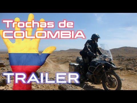 Cinco Trochas de Colombia. Colombia en Moto. Rotura motor BMW R1200gs Motovlog Videos de motos