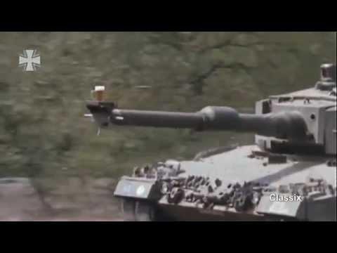 Testing tank cannon stabilization German style
