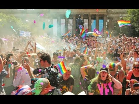 Breaking News: Australians Say 'Yes' To Same-Sex Marriage - Gay Community Celebrates yes Results