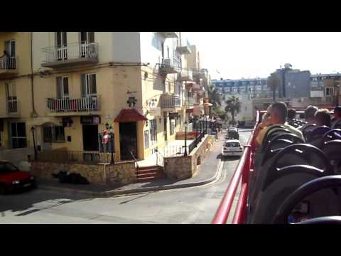 20: Malta Sightseeing Bus in Buġibba / St. Pauls Bay - 24th August 2015 (08:44)