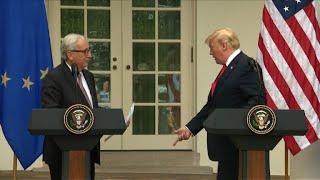 Juncker et Trump désamorcent le conflit commercial