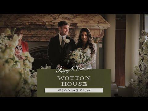 Wotton House | Poppy & William's Wedding Film 2019 | Surrey Wedding Videographer