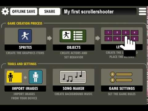 Android Game Creator - Tutorials: My First Scrollershooter