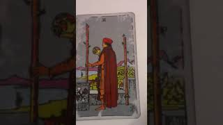 Find out what the 2 of Wands means as feelings in your love reading...