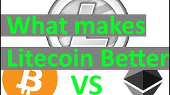 What makes Litecoin better than Bitcoin and Ethereum