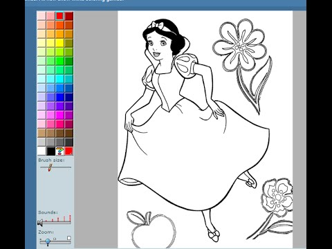 Snow White Coloring Pages For Kids  Snow White Coloring Pages