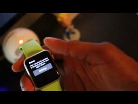 How to play music off your Apple Watch: Tip (1)