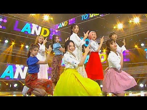 """EXCITING"" MOMOLAND - Momoland - BAAM @ Popular Inkigayo 20180729"