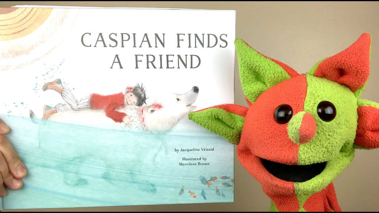 Caspian Finds A Friend (by Jacqueline Veissid)