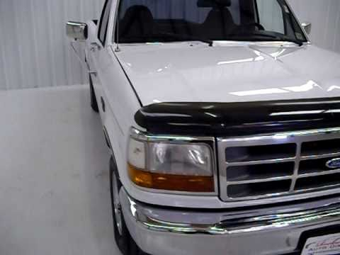 Nice One Owner 1996 Ford F-150 Regular Styleside XL At Rockwall Auto Direct